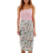 I 'Heart' Ronson® Embellished Cami or Print Pencil Skirt