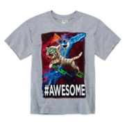 Awesome Cat Graphic Tee – Boys 8-20