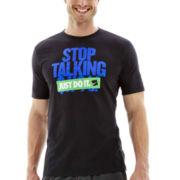 Nike® Stop Talking Graphic Tee