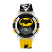 DC Comics® Yellow and Black Batman Strap Watch