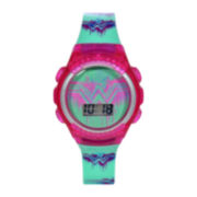 DC Comics® Pink Wonder Woman Strap Kids Watch