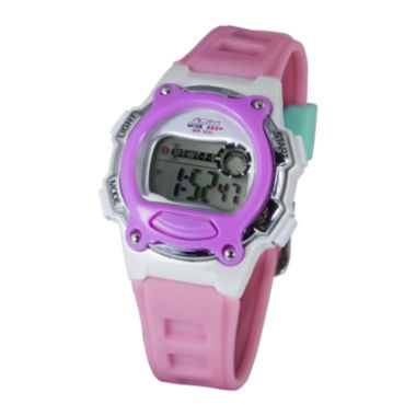 jcpenney.com | ADM Madison Purple Digital Watch