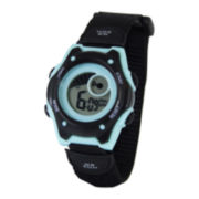 ADM Hudson Green & Black Digital Watch