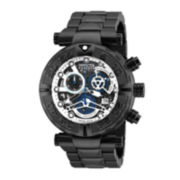 Invicta® Subaqua Mens Stainless Steel Black Bracelet Watch