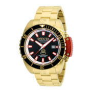 Invicta® Pro Diver Mens Gold-Tone Stainless Steel Bracelet Watch