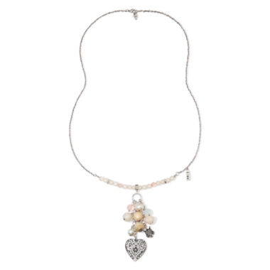 jcpenney.com | Messages from the Heart® by Sandra Magsamen® Cubic Zirconia Heart Pendant