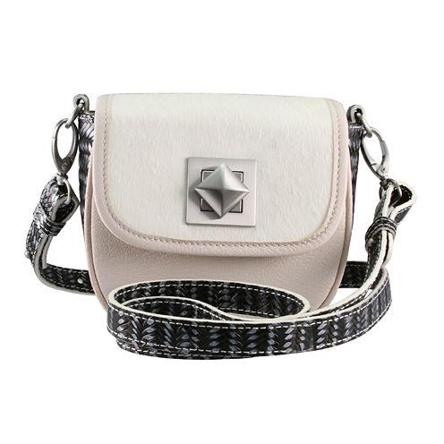 Adrienne Landau Ibiza Leather Convertible Crossbody Bag