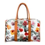 Bueno Printed Weekender Duffel Bag