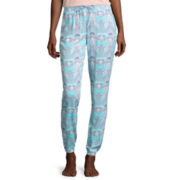 Black Butterfly Printed Sleep Pants