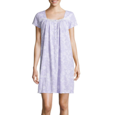 jcpenney.com | Earth Angels® Short-Sleeve Short Nightgown