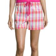 Sleep Chic Woven Pajama Shorts