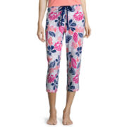 Liz Claiborne® Knit Capri Sleep Pants