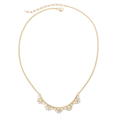 jcpenney.com | Vieste® Crystal Gold-Tone Statement Necklace