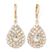 Vieste® Gold-Tone Teardrop Earrings