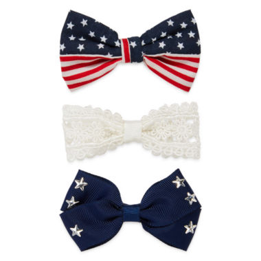 jcpenney.com | Arizona American Flag and Star Hair Bows