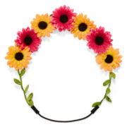 Carole Bright Flower Halo Headband