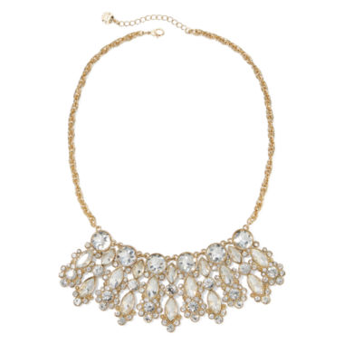 jcpenney.com | Monet® Crystal Gold-Tone Statement Necklace