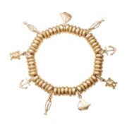 Monet® Gold-Tone Charm Bracelet