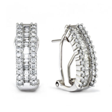 jcpenney.com | LIMITED QUANTITIES 1 CT. T.W. Diamond 14K White Gold Earrings