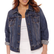 Stylus™ Denim Jacket - Plus