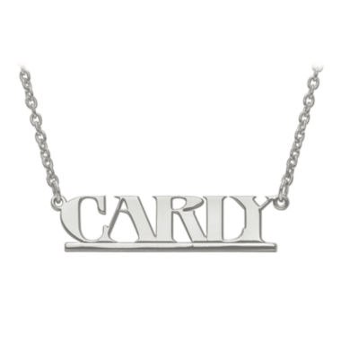 jcpenney.com | Personalized  9x36mm Aegina Font Name Necklace