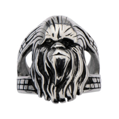 jcpenney.com | Star Wars® Stainless Steel Chewbacca 3D Ring