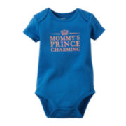 Carter's® Short-Sleeve Prince Charming Bodysuit - Baby Boys newborn-24m