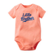 Carter's® Short-Sleeve Little Brother Bodysuit - Baby Boys newborn-24m