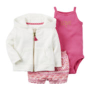 Carter's® 3-pc. Set - Baby Girls newborn-24m