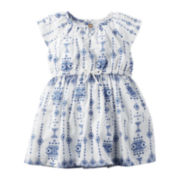 Carter's® Flutter-Sleeve Printed Dress - Baby Girls newborn-24m