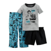 Carter's® 3-pc. Pirate Pajama Set - Toddler Boys 2t-5t