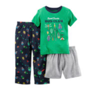 Carter's® 3-pc. Bugs Pajama Set - Toddler Boys 2t-5t