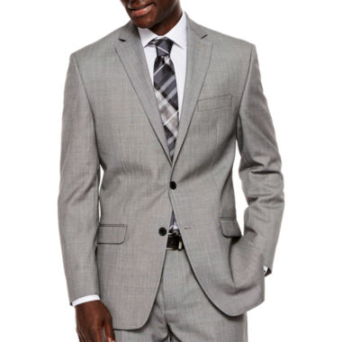 jcpenney.com | Collection by Michael Strahan Black White Birdseye Suit Jacket - Classic Fit
