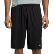 Nike® Dynamo Print Side Panel Flat-Front Shorts
