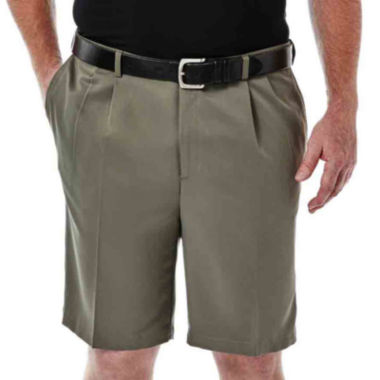 jcpenney.com | Haggar® Cool 18® No–Iron Pleated Shorts–Big & Tall