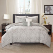 Madison Park Finley 6-pc. Duvet Set