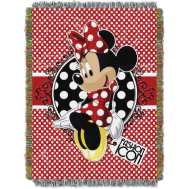 jcpenney.com | Disney Minnie Mouse Tapestry Throw