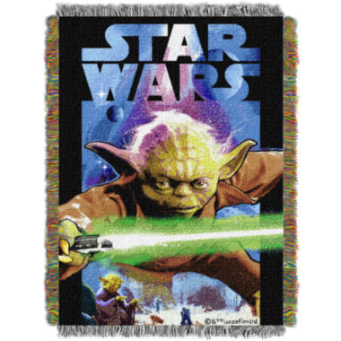jcpenney.com | Star Wars Yoda Tapestry Throw