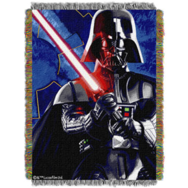 jcpenney.com | Star Wars Darth Vader Tapestry Throw