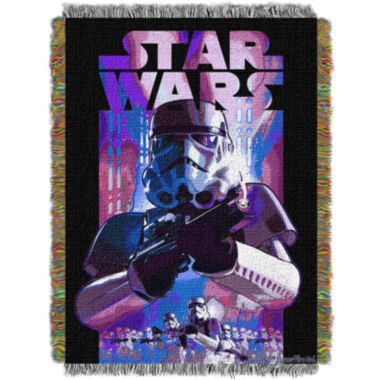 jcpenney.com | Star Wars Storm Troopers Tapestry Throw
