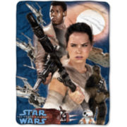 Star Wars The Force Awakens Rebel Fighters Throw