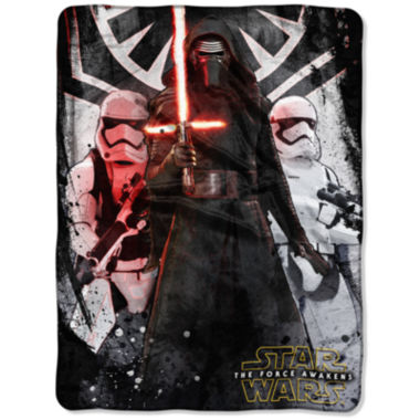 jcpenney.com | Star Wars The Force Awakens First Order Throw