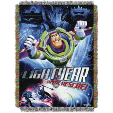 jcpenney.com | Disney Toy Story Buzz Lightyear Tapestry Throw
