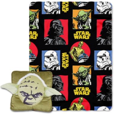 jcpenney.com | Star Wars Yoda Pillow and Throw Set