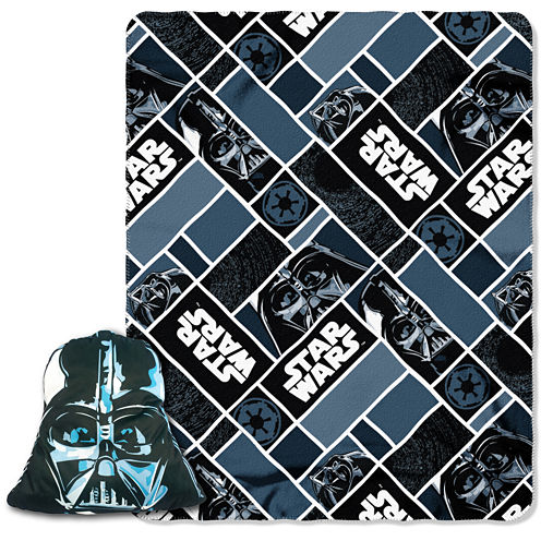 Star Wars Pillow and Throw Set