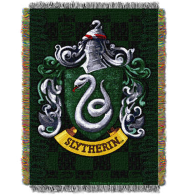 jcpenney.com | Harry Potter Slytherin Shield Tapestry Throw