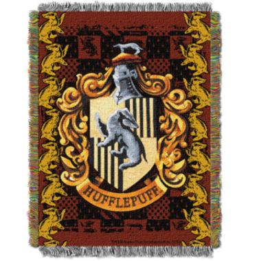 jcpenney.com | Harry Potter Hufflepuff Crest Tapestry Throw