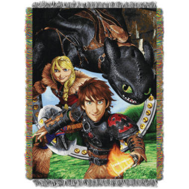 jcpenney.com | How To Train Your Dragon Tapestry Throw