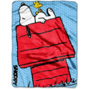 Peanuts Snoopy Throw