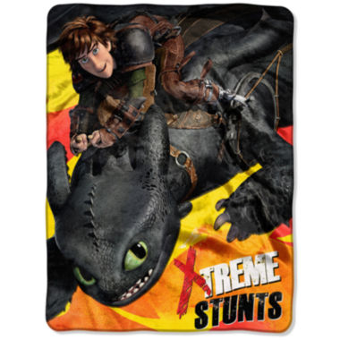 jcpenney.com | How To Train Your Dragon Throw